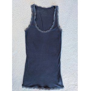 AEO lace trimmed tank XS ~GUC~